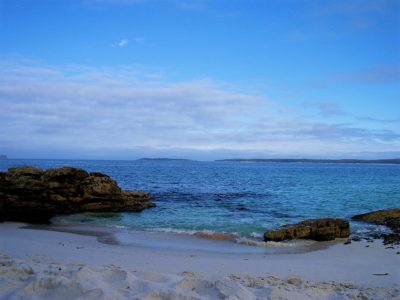 View of Jervis Bay, NSW, Austrlia