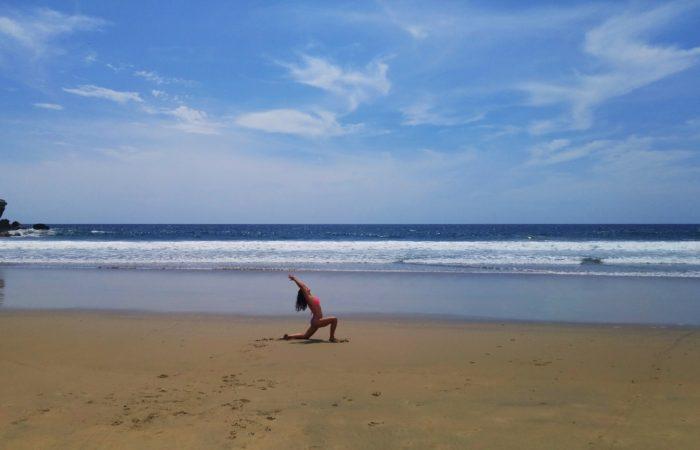 Tacy Yoga on the Beach