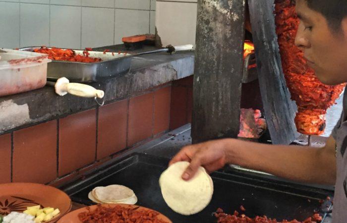 street tacos in playa del carmen